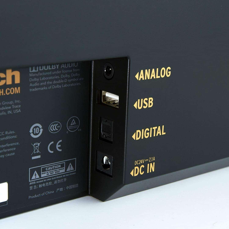 Klipsch RSB-3 All-in-one Bluetooth Soundbar back side