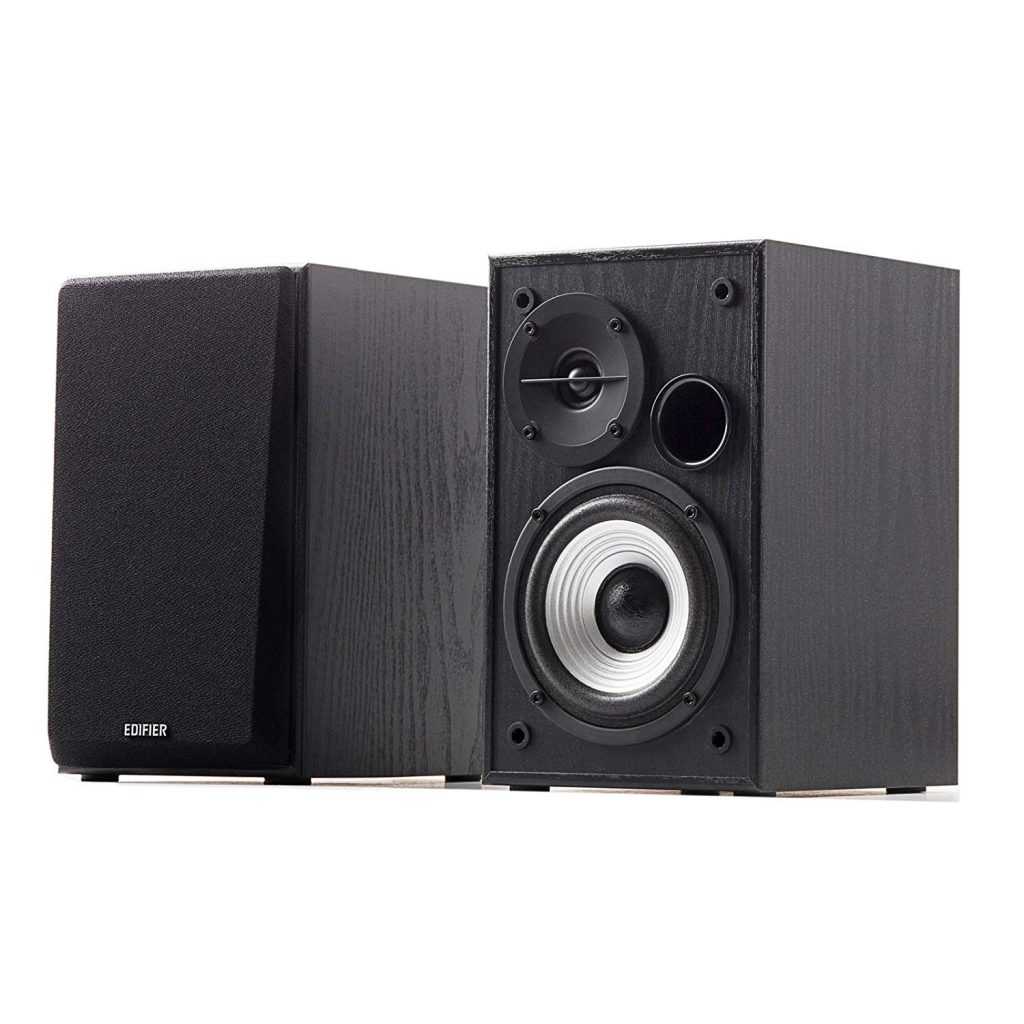 "Edifier R980T 4"" Active Bookshelf Speakers - 2.0 Computer Speaker - Powered Studio Monitor"
