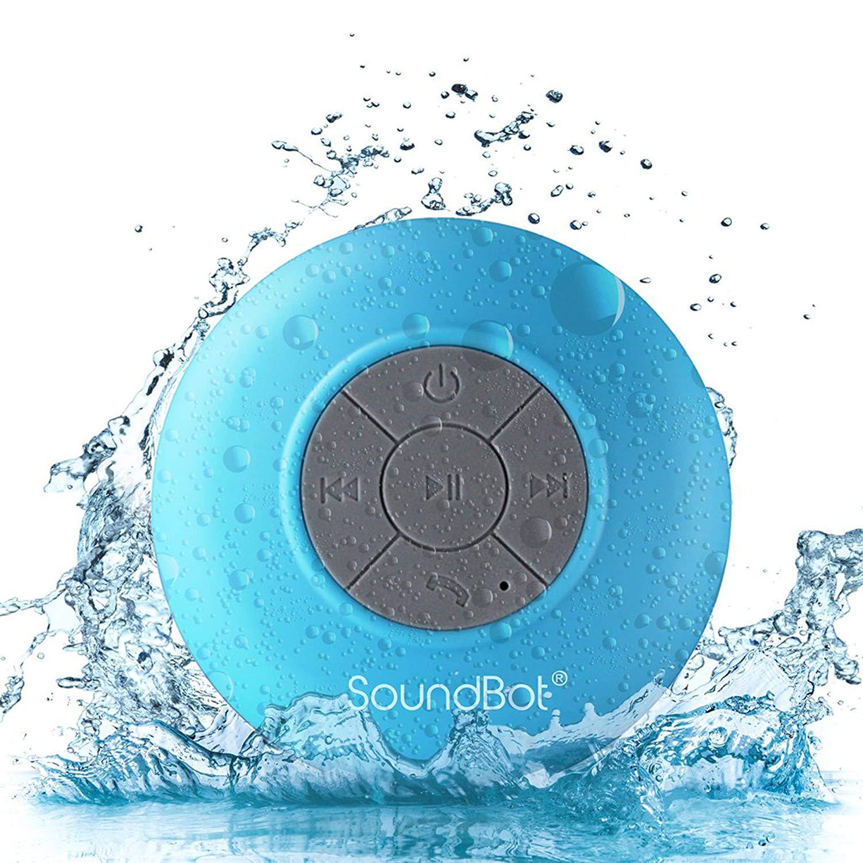 SoundBot SB510 HD Water-Resistant Shower Speaker