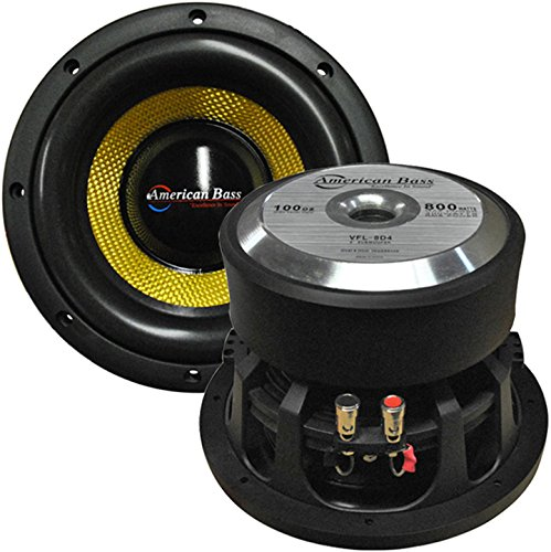 "American Bass 8"" Competition Woofer"
