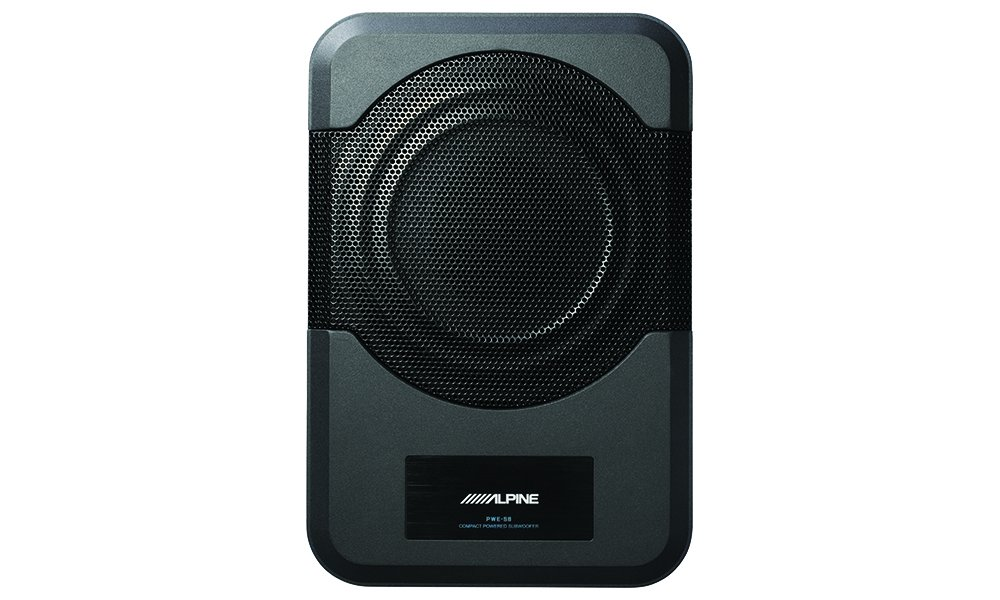 best 8 inch subwoofers - Alpine Electronics PWE-S8 Restyle Compact Powered 8-Inch Subwoofer by Alpine