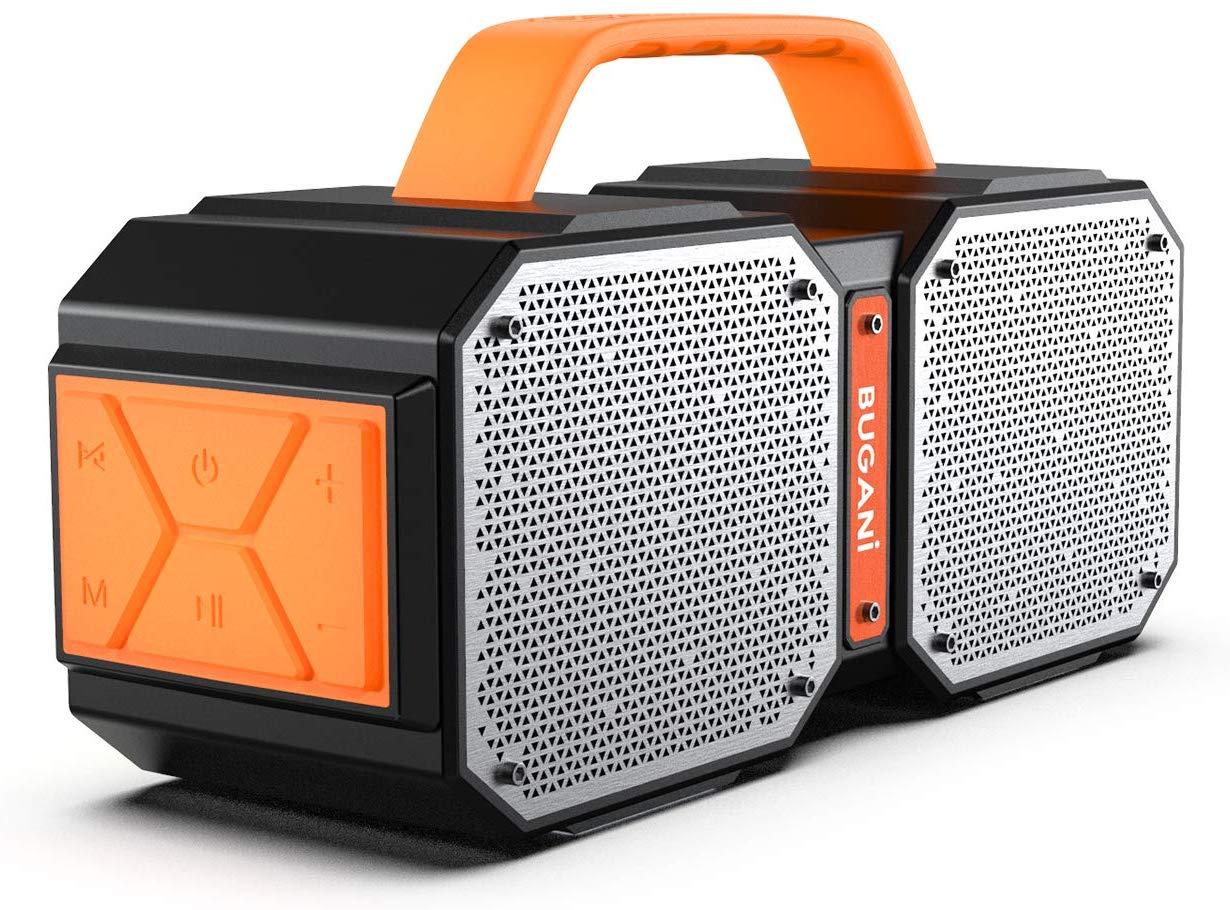 best Bluetooth speaker under 100 - Bugani Bluetooth  speakers