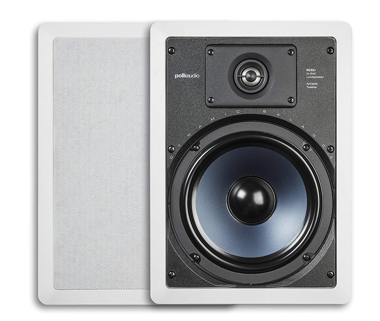 best in wall speakers buying guide - winner Polk Audio RC85i