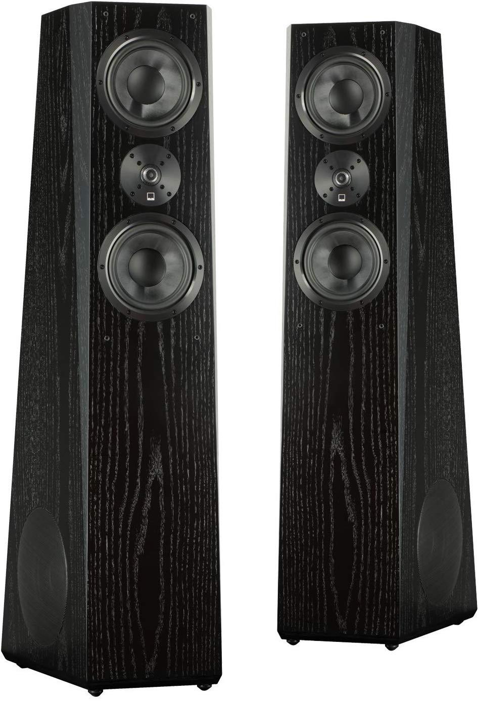 comparing the best floorstanding speakers on the market - SVS Ultra Tower Flagship 3-Way Loudspeaker (Black Oak Pair)
