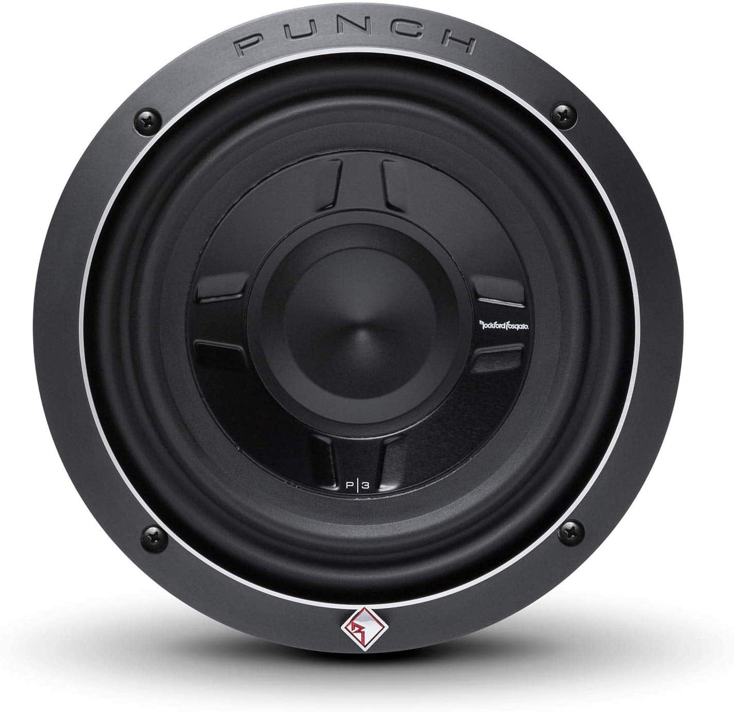 "Rockoford Fosgate P3SD2-8 8"" Dual 2-Ohm Punch Series Shallow Mount Car Subwoofer Review"