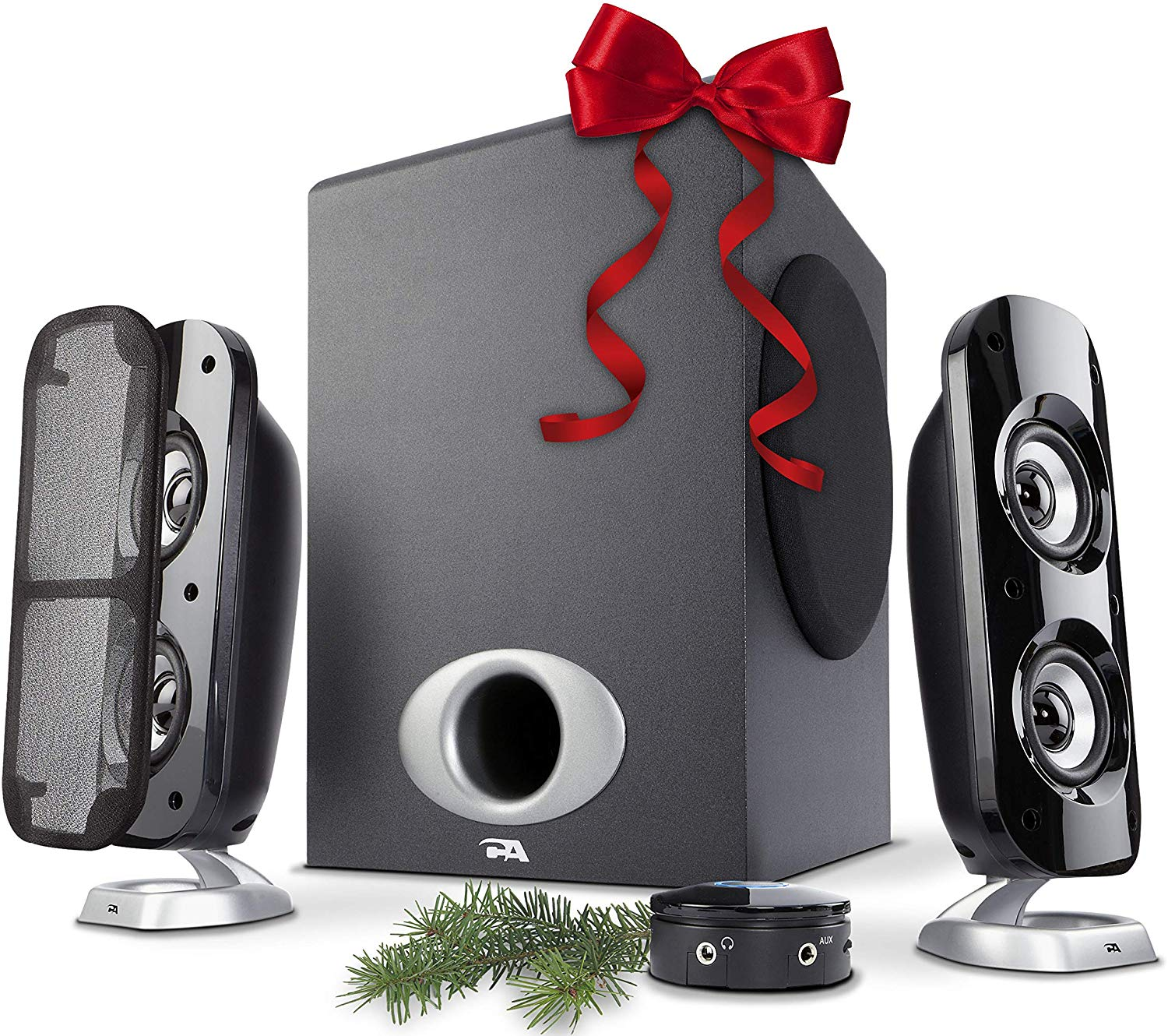 Cyber Acoustics 2.1 Subwoofer Speaker System review