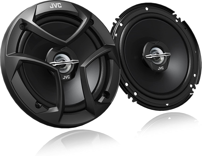 JVC CS-J620 300W 6.5 CS Series 2-Way Coaxial Car Speakers, Set of 2