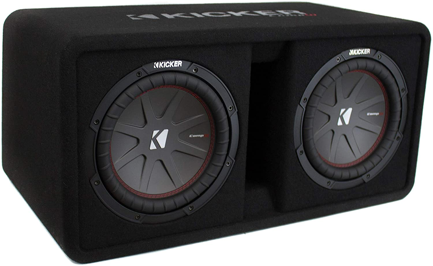 KICKER 43DCWR102 10 2400W Dual Car Subwoofers
