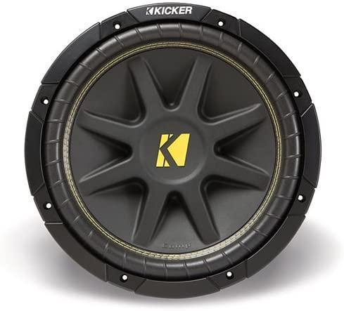 Kicker 10C104 Comp 10-Inch Subwoofer 4 Ohm (Budget Pick)