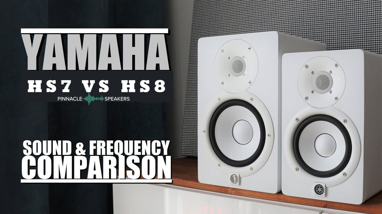 Yamaha-HS7-vs-HS8