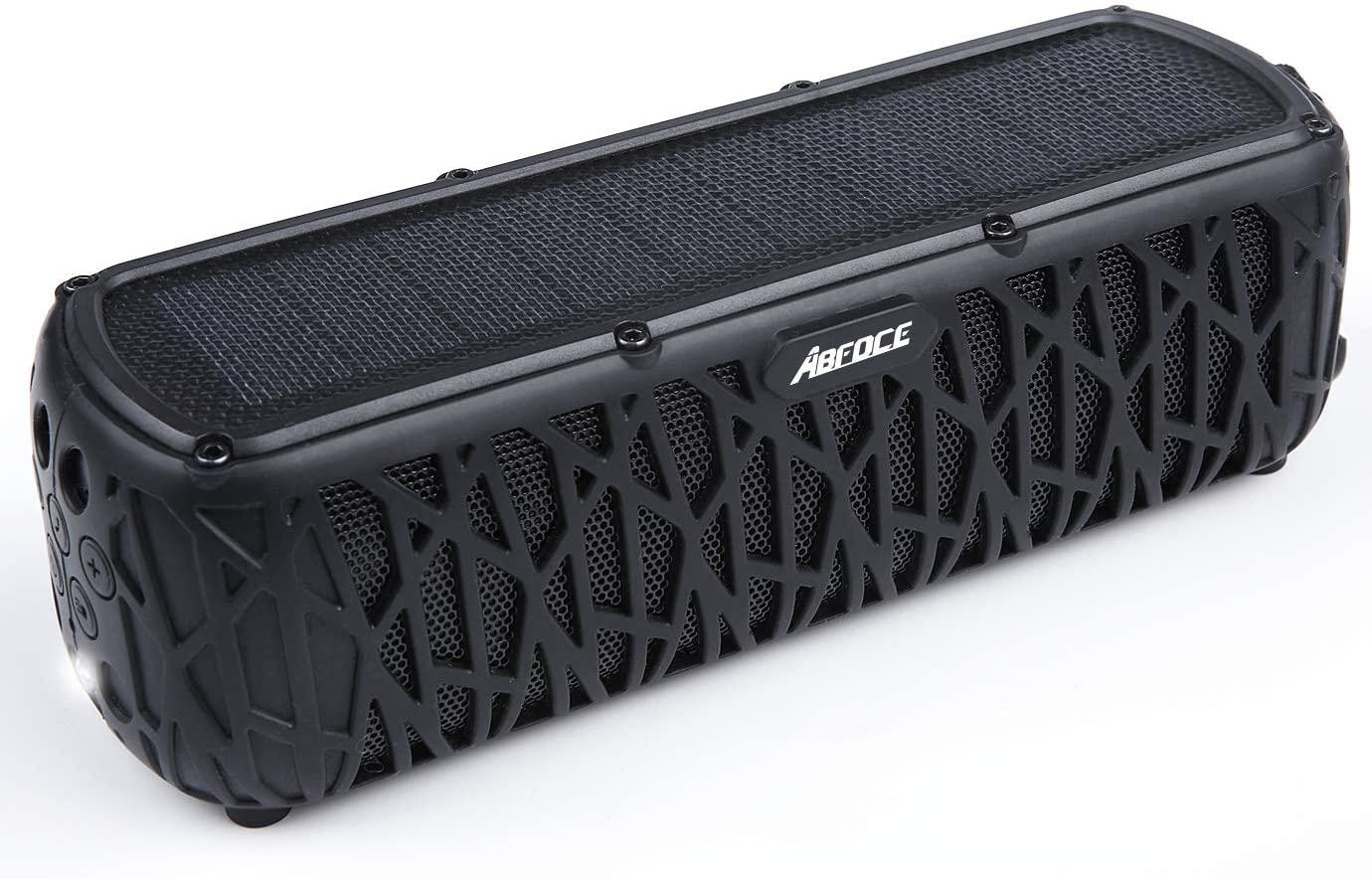 ABFOCE Bluetooth Solar-powered Outdoor Speaker