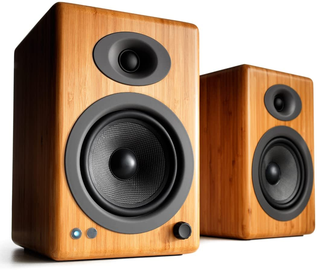 Audioengine A5+ Plus Wireless Speaker | Desktop Monitor Speaker