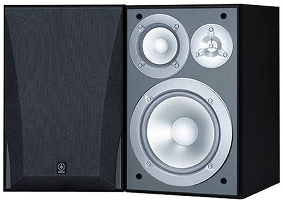 Best Budget Option: Yamaha NS-6490 3-Way Bookshelf Speakers